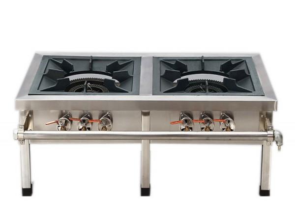Không nên dùng bếp gas công nghiệp cho bếp gia đình