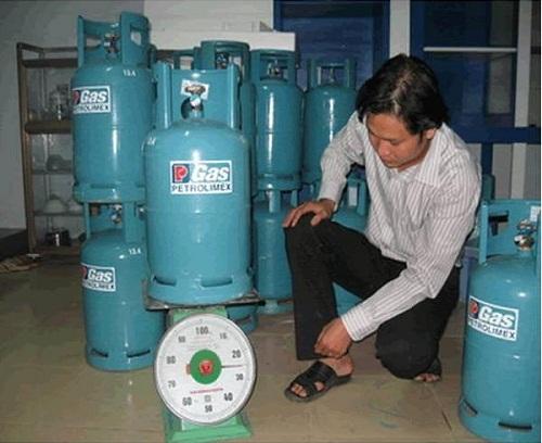 Kiểm tra bình gas